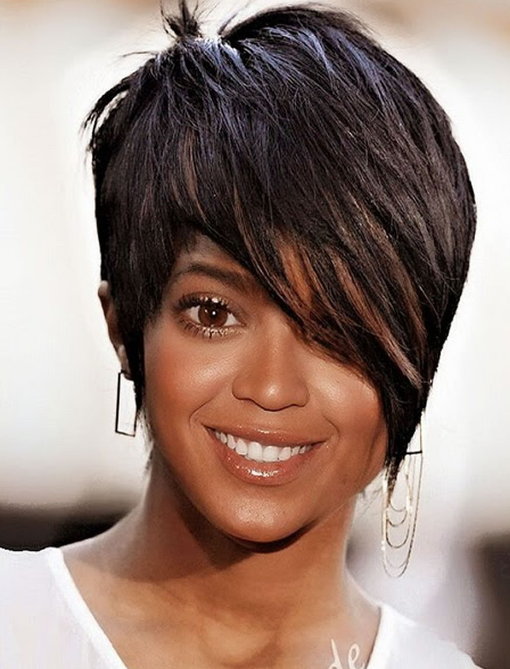 Short Haircuts For Black Women Pixie Short Black Hair - Short hairstyle bob cut