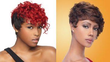 2018 Short Hairstyles for Black Women