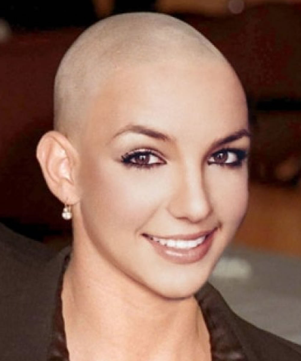 Shave Bald Women 12