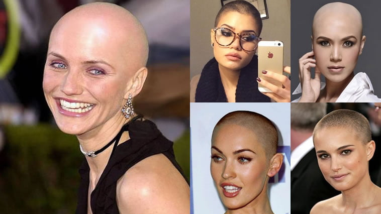 Trends Bald haircuts & headshave for women 2018-2019
