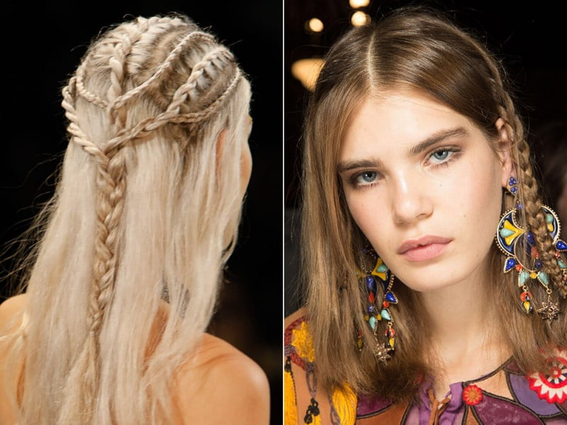 30 Fabulous Braided Hairstyles 2018 From New York Fashion Week Page 8 Hairstyles