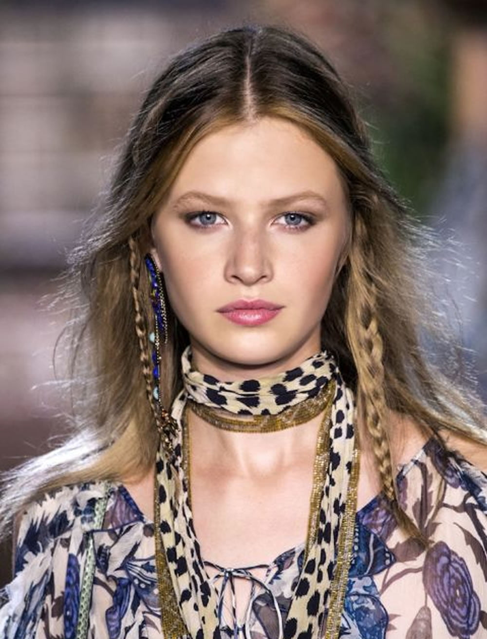 30 Fabulous Braided Hairstyles 2018 from New York Fashion Week ...