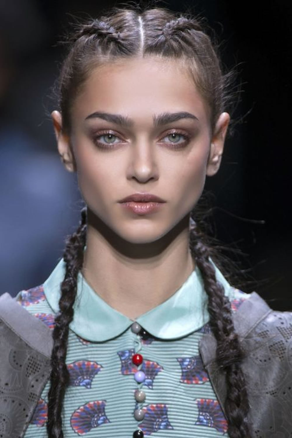 30 Fabulous Braided Hairstyles 2018 From New York Fashion Week Page 3 Hairstyles