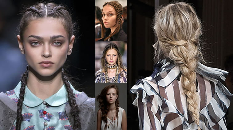 Braided Hairstyles from 2017-2018