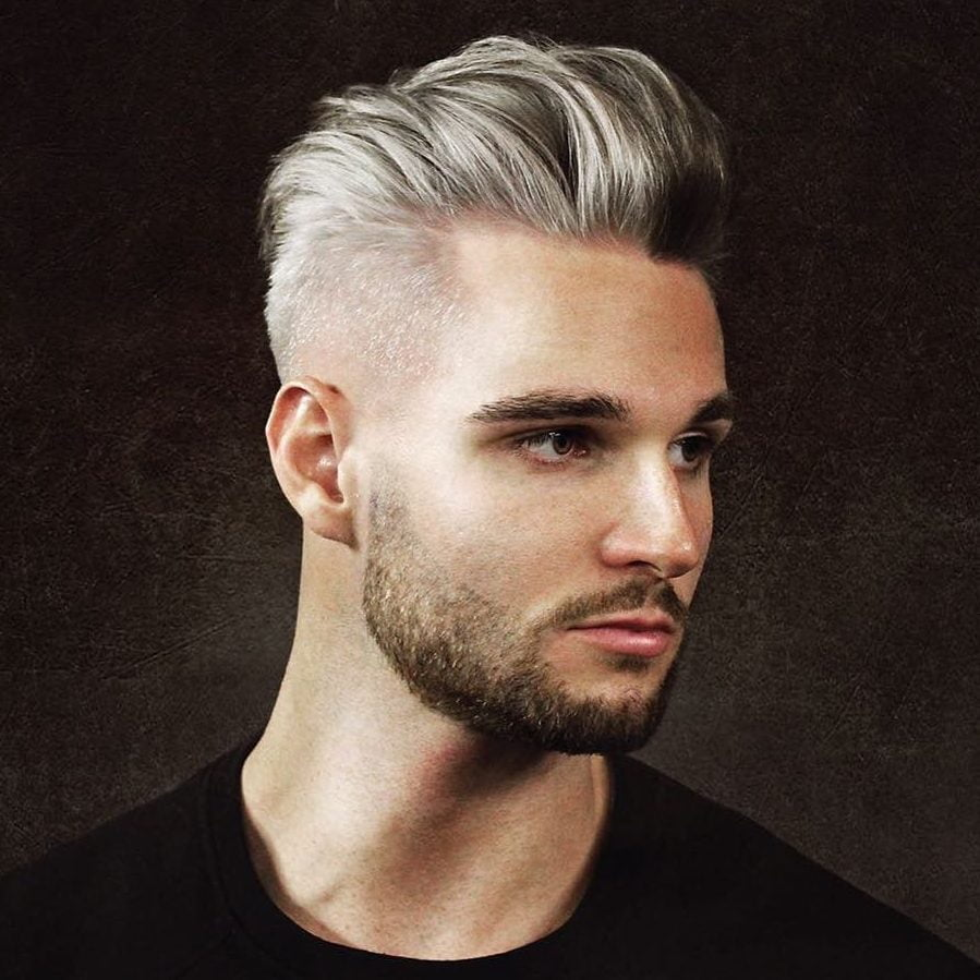 Pompadour Hairstyles & Haircuts for 2018 - Viral 21 Pomp Hair ...