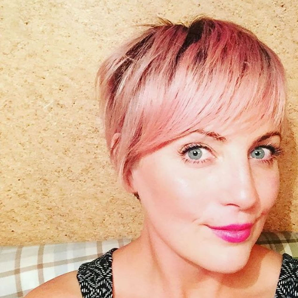 24 chic highlights for short hair pastel hair colors for 2018 light brown hair color short hairstyles 2018 2019 pmusecretfo Images