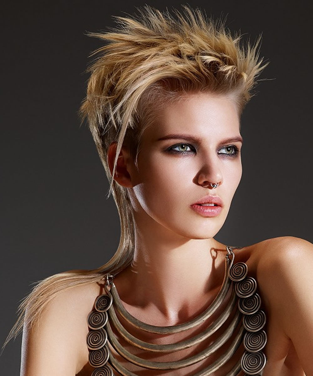 Short 2018 Pixie Haircuts & Hairstyles, Colors and Ideas - photo #8