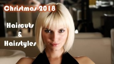 Short Haircuts & Hairstyles for Christmas 2018