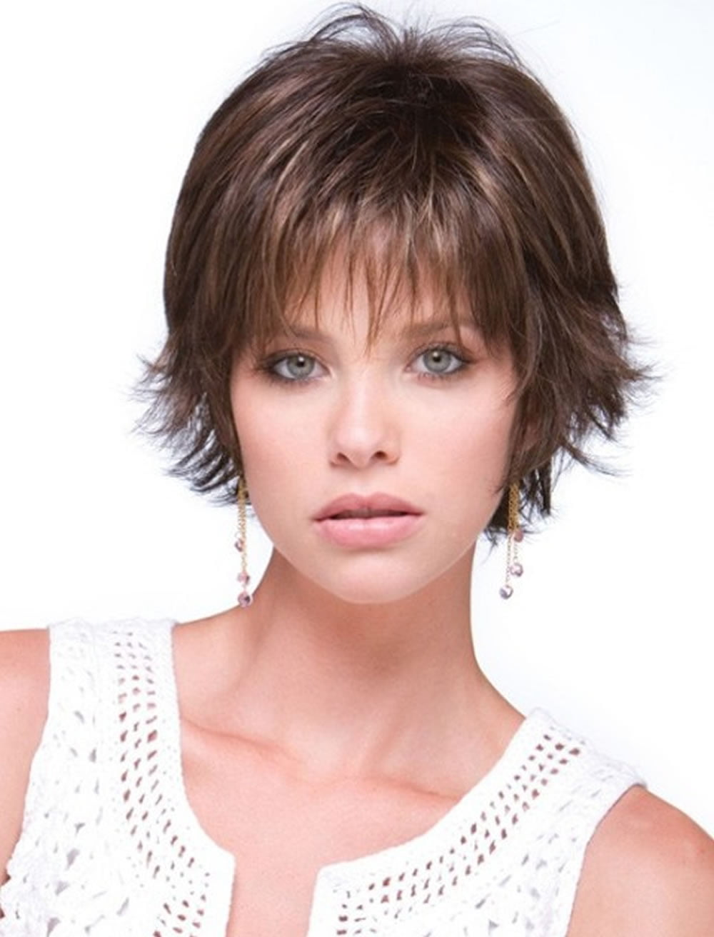 Short haircut for thin fine hair