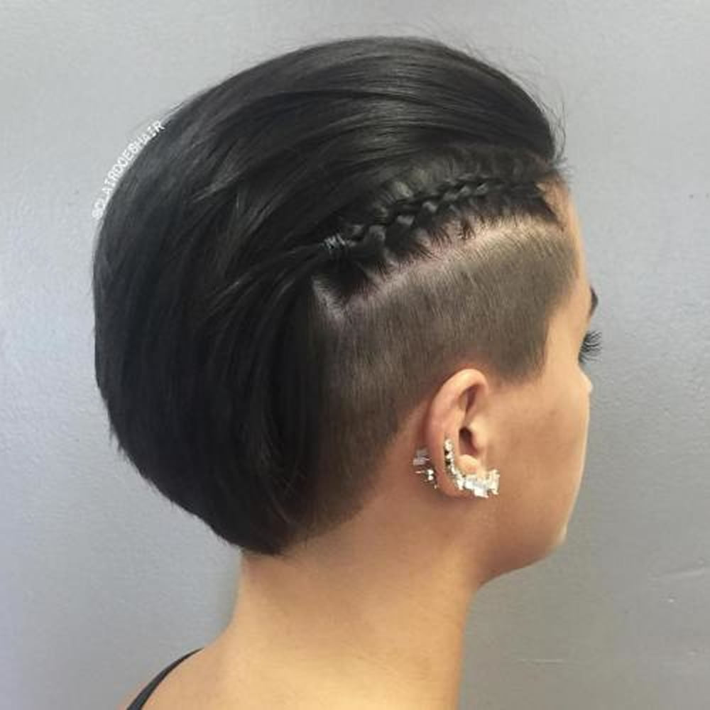 Undercut Hair Designs For Female Hairstyles 2018 2019