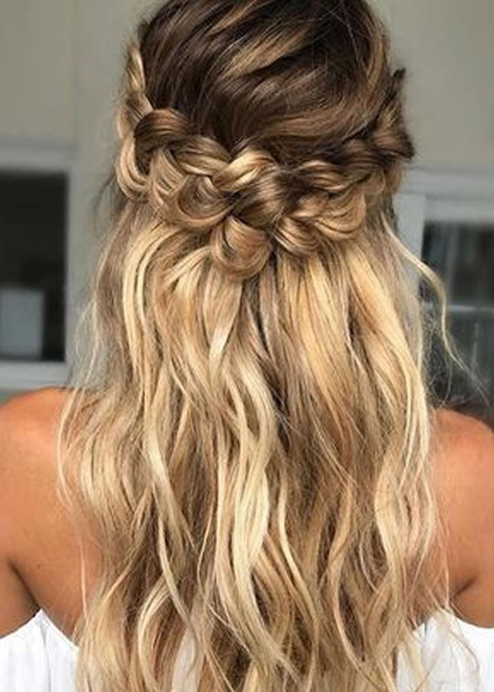 25 Very Stylish Soft Braided Hairstyles ideas 2018-2019 ... - photo #24