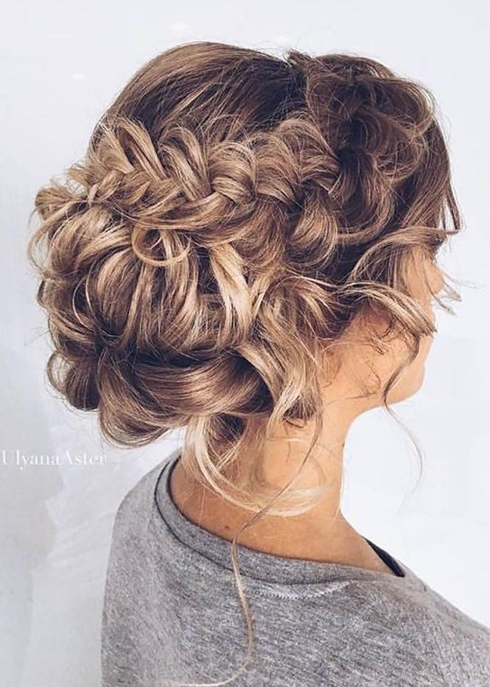 Прическа на длинные волосы собранные вверх фото
