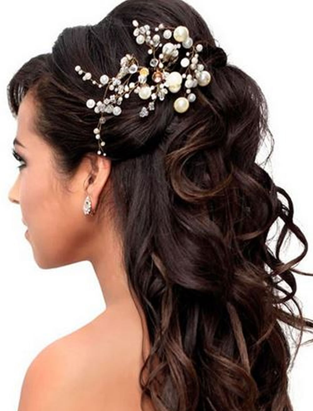 Very stylish wedding hairstyles for long hair 2018 2019 wedding hairstyles for long hair summer 2018 2019 junglespirit Images