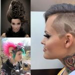 2018 Extreme Hairstyles and Haircuts for Women