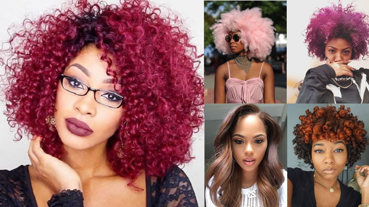 2018 Hairstyle For Dark Hair Color: 2018 Hair Color Trends For Black & African American Women