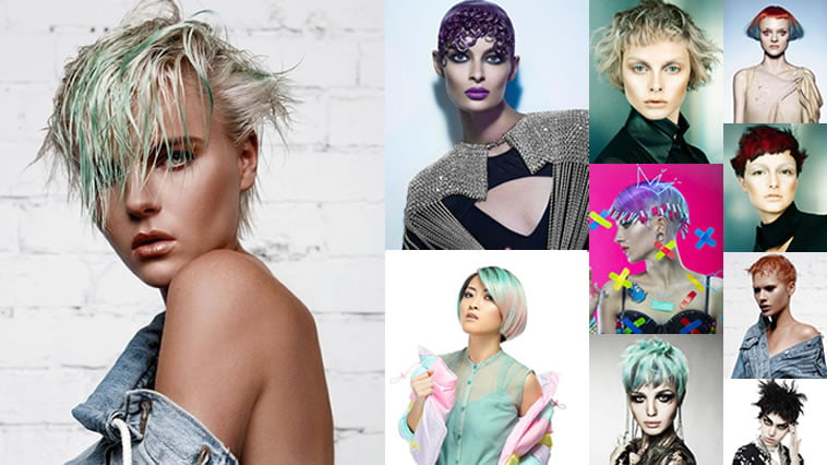 2018 Pastel Hair Colors for Short Hair