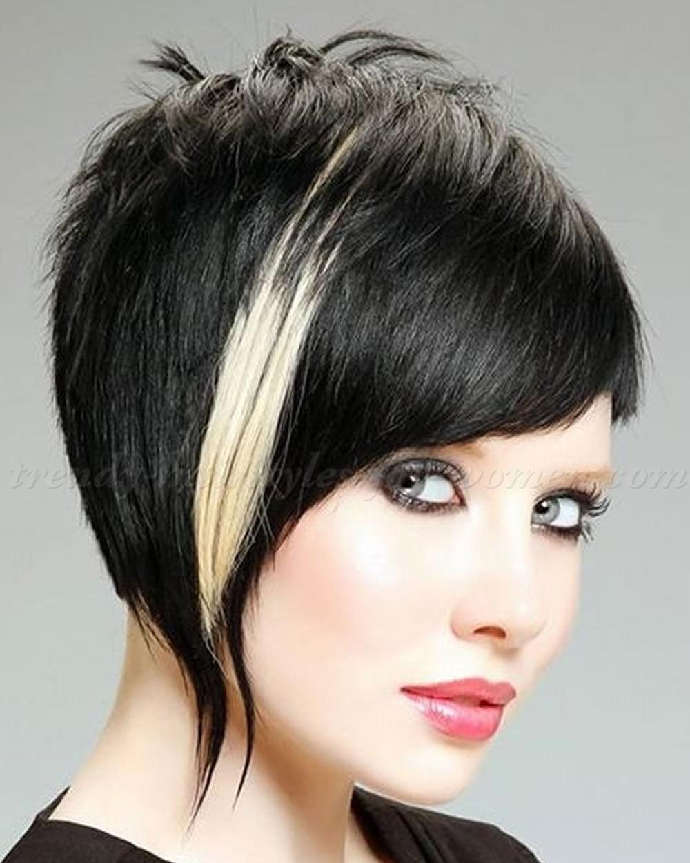 Ombre Asymmetrical Short Bob Hair 2018-2019