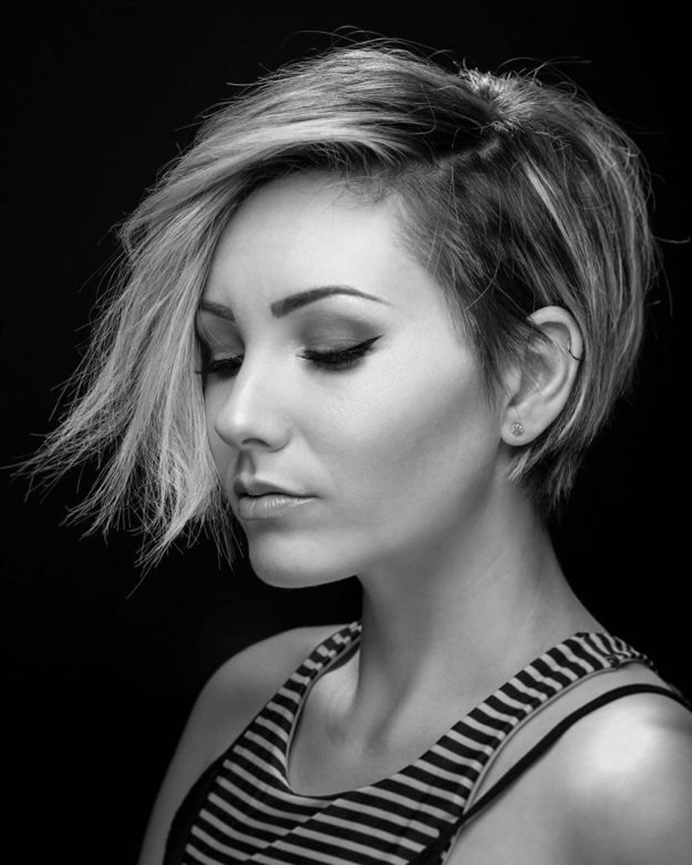 Asymmetrical short hair 2018 33 haute short hairstyles for Best women pictures