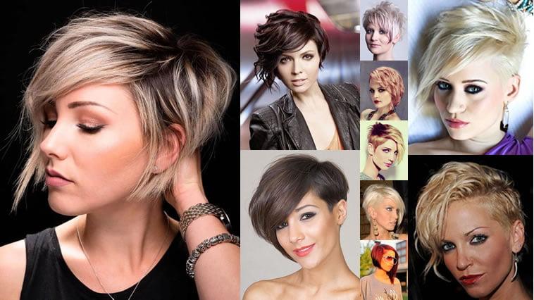 2018 Hairstyles For Thin Hair: Asymmetrical Short Hair 2018