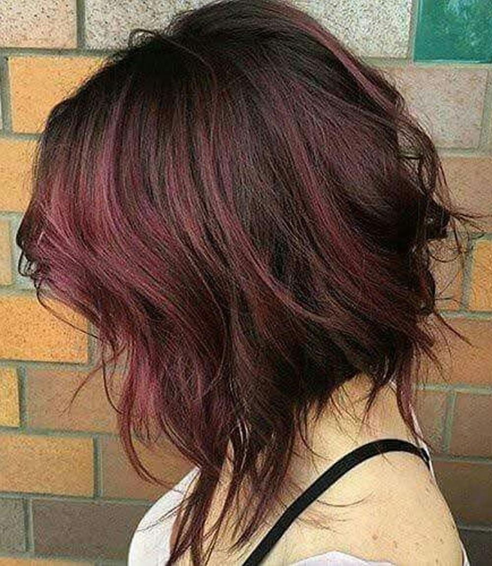 Окрас волос на каре на удлинение