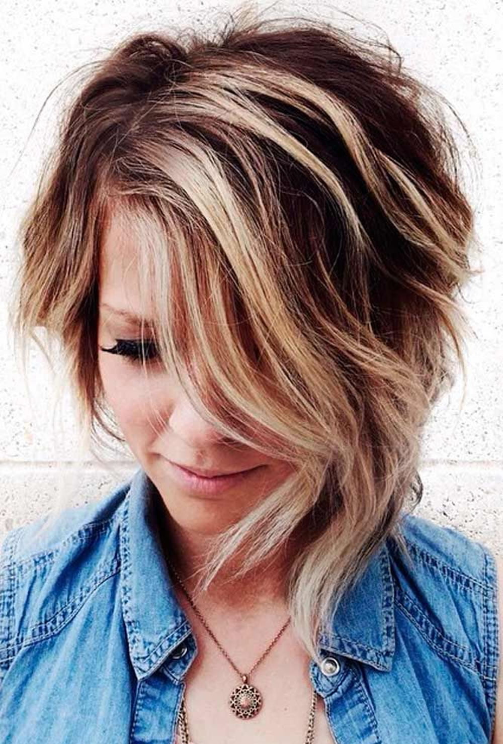 Short Curly Hairstyles for Women: Blonde Hair pics
