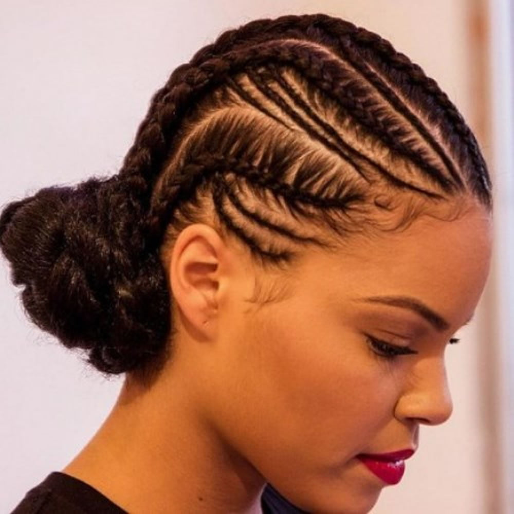 Cornrow Hairstyles For Black Women 2018 2019 Page 5