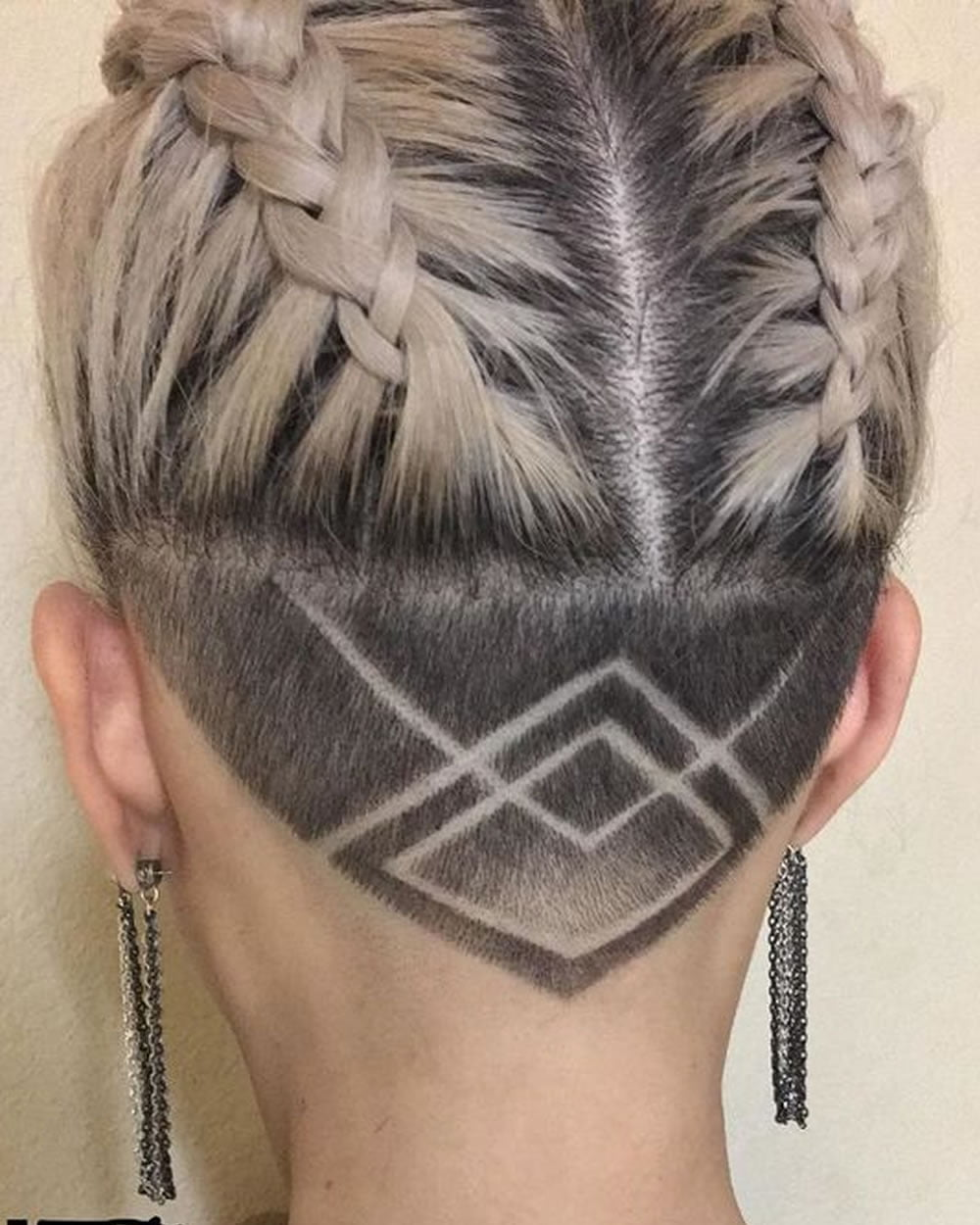 pics 45 Undercut Hairstyles with Hair Tattoos for Women With Short or Long Hair