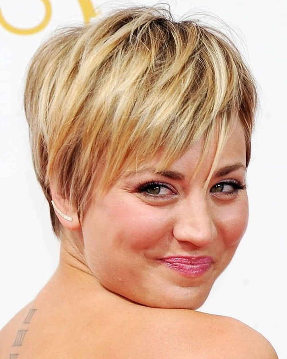 Pixie Hairstyles Fine Hair For Round Face 2018 2019