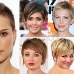 Pixie Hairstyles Fine Hair for Round Face 2018-2019