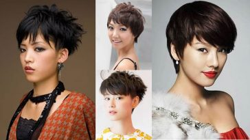 Pixie Hairstyles and Haircuts For Asian Women 2018-2019