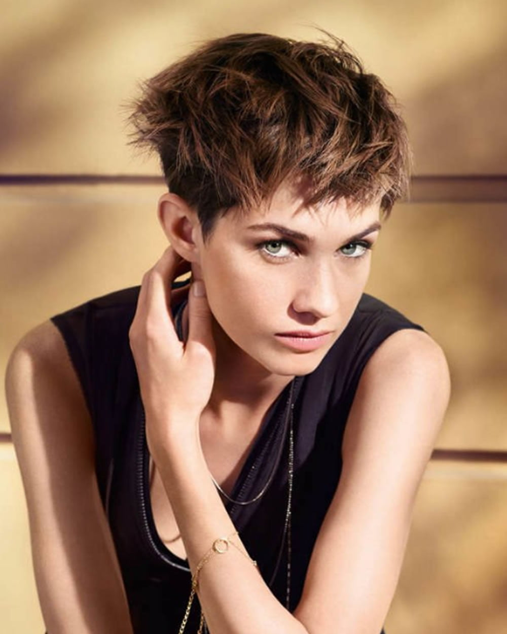 New Hairstyles: The Latest 25 Ravishing Short Hairstyles And Colors You