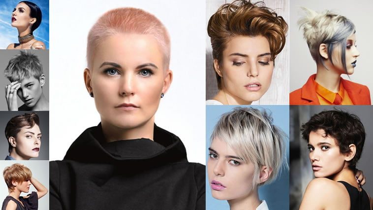 20 Latest Mixed 2018 Short Haircuts for Women : Bob+Pixie Styles ...
