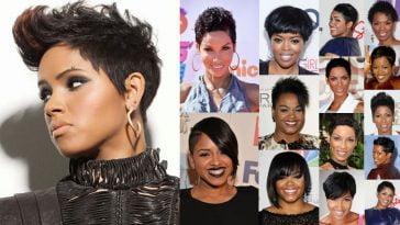 Pixie Black Hairstyles 2018