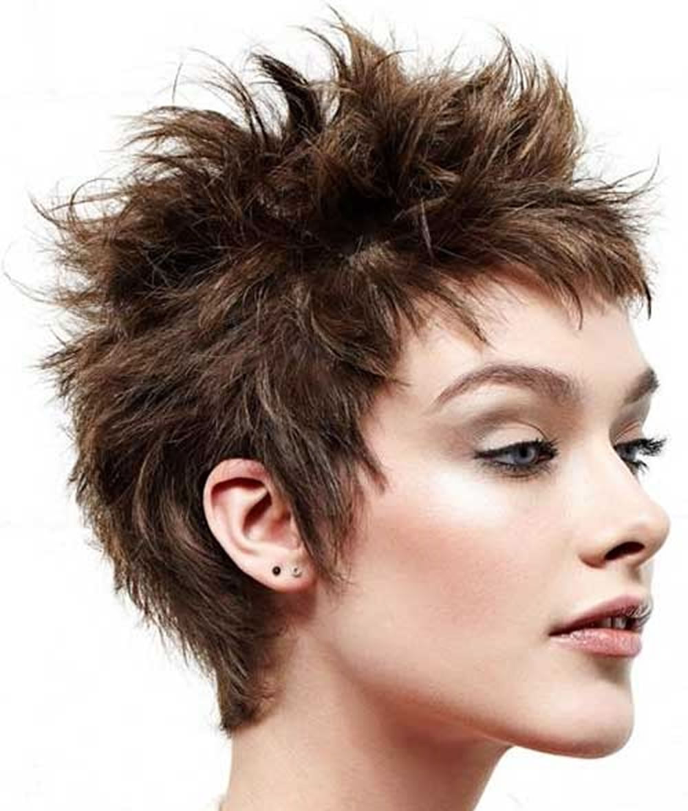Short Spiky Haircuts Amp Hairstyles For Women 2018 Page 8