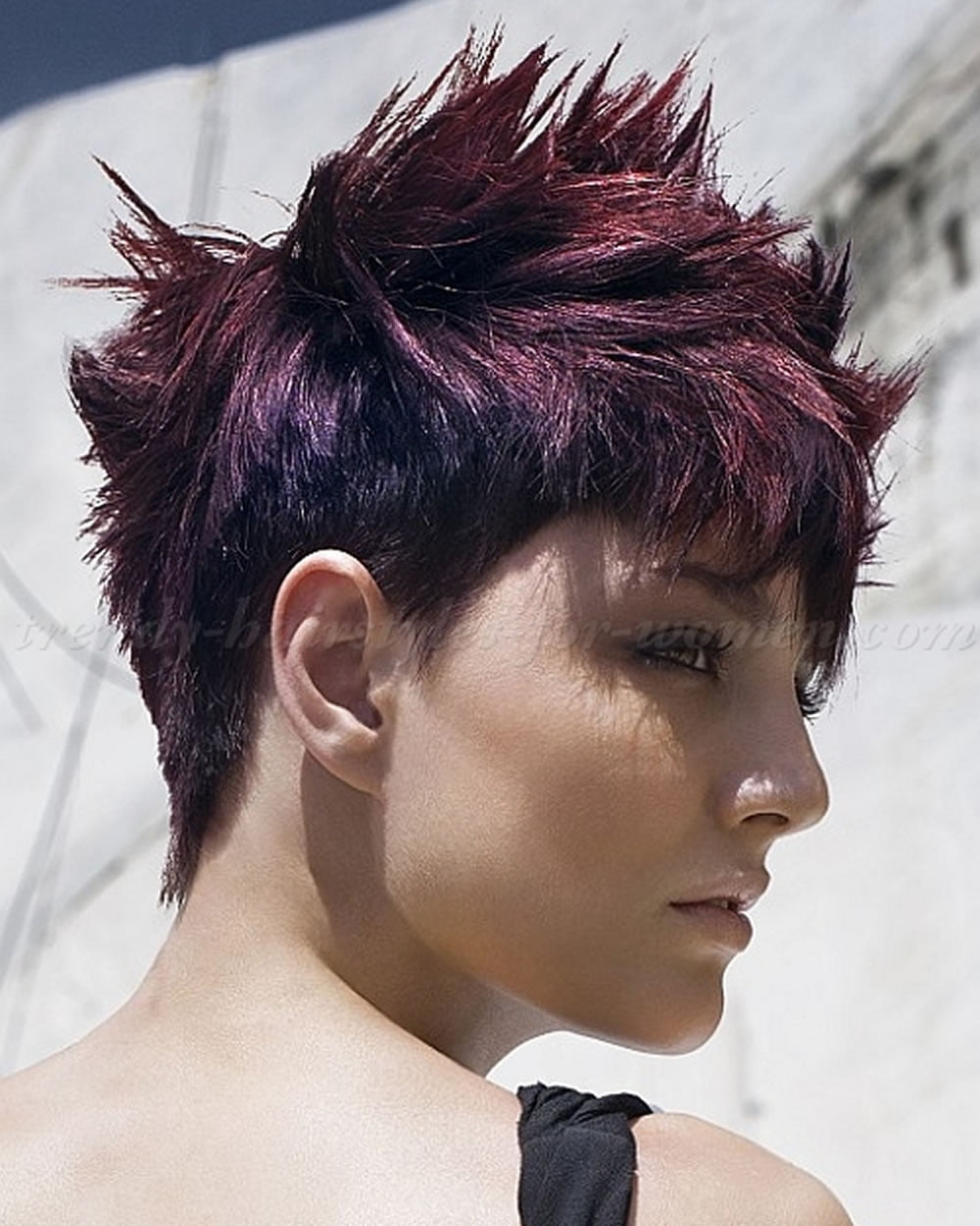 Short Spiky Haircuts & Hairstyles for Women 2018 | Page 9 of 10