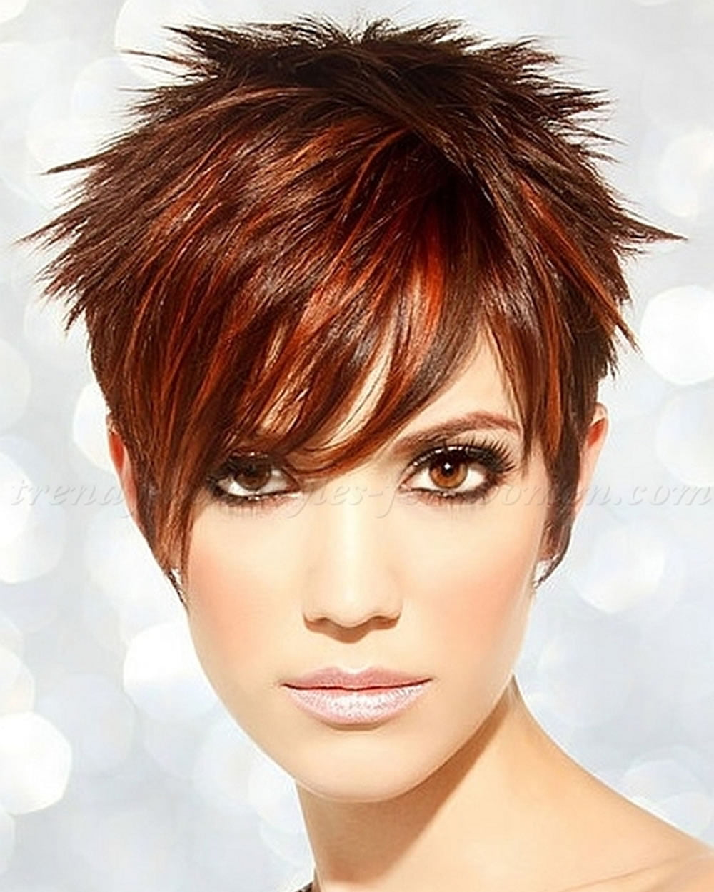 Short Spiky Haircuts Hairstyles for Women
