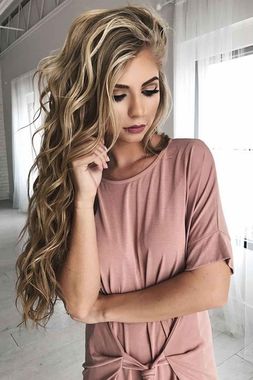 2018 Balayage Hairstyles For Long Hair Balayage Hair