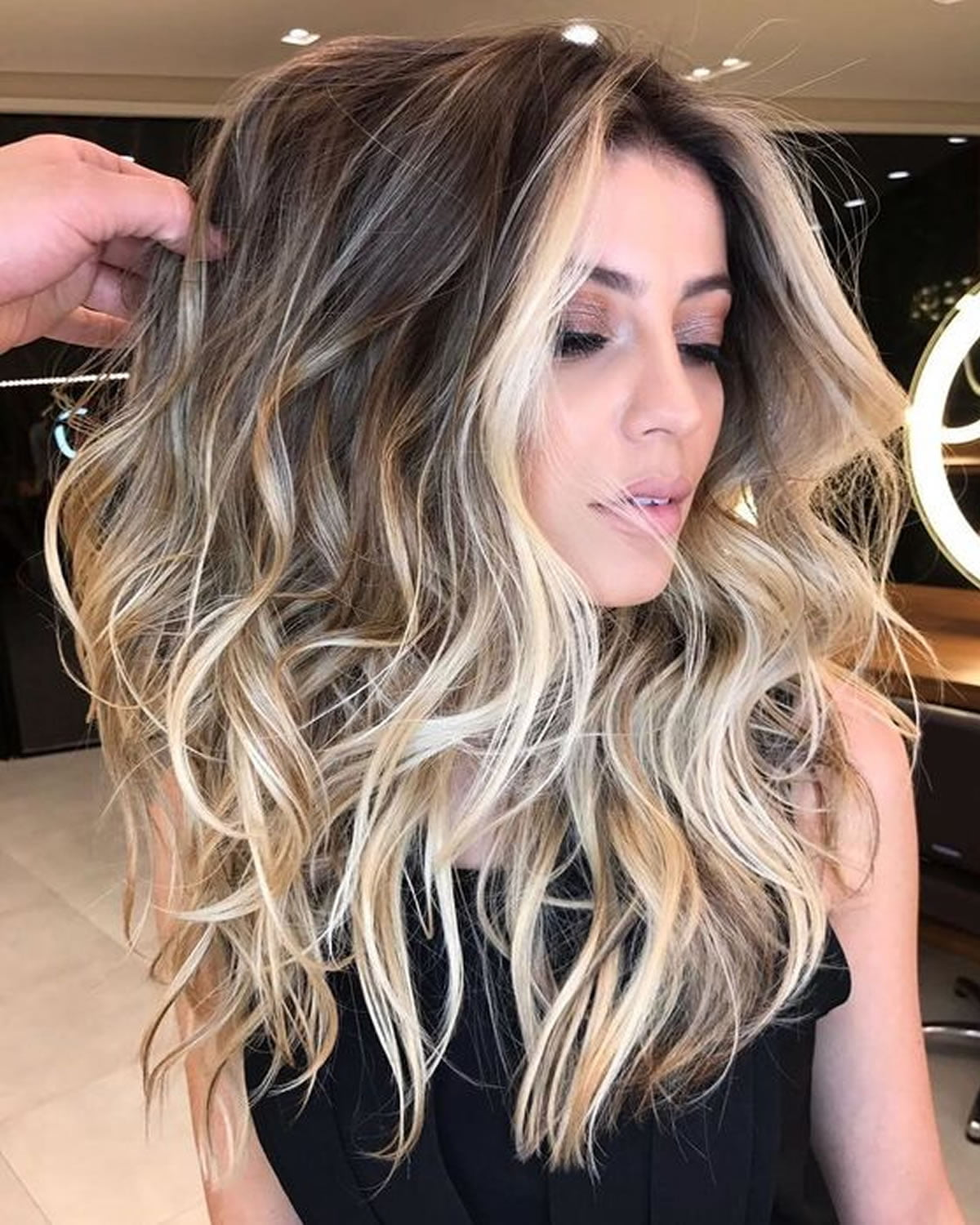 2018 Balayage Hairstyles For Long Hair Balayage Hair