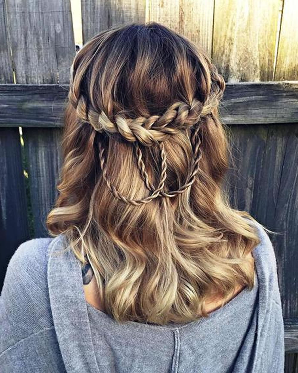 french braid and hair The french braid is a classic hairstyle that you'll need at least shoulder length hair to pull off begin braiding at the top of the head, and add even sections of hair into the braid to complete the timeless look.