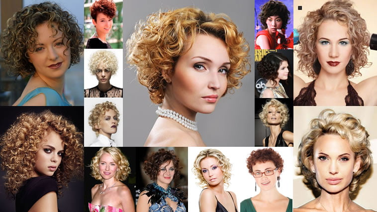 2018 Permed Hairstyles for Short Hair – Best 32 Curly Short Haircut ...