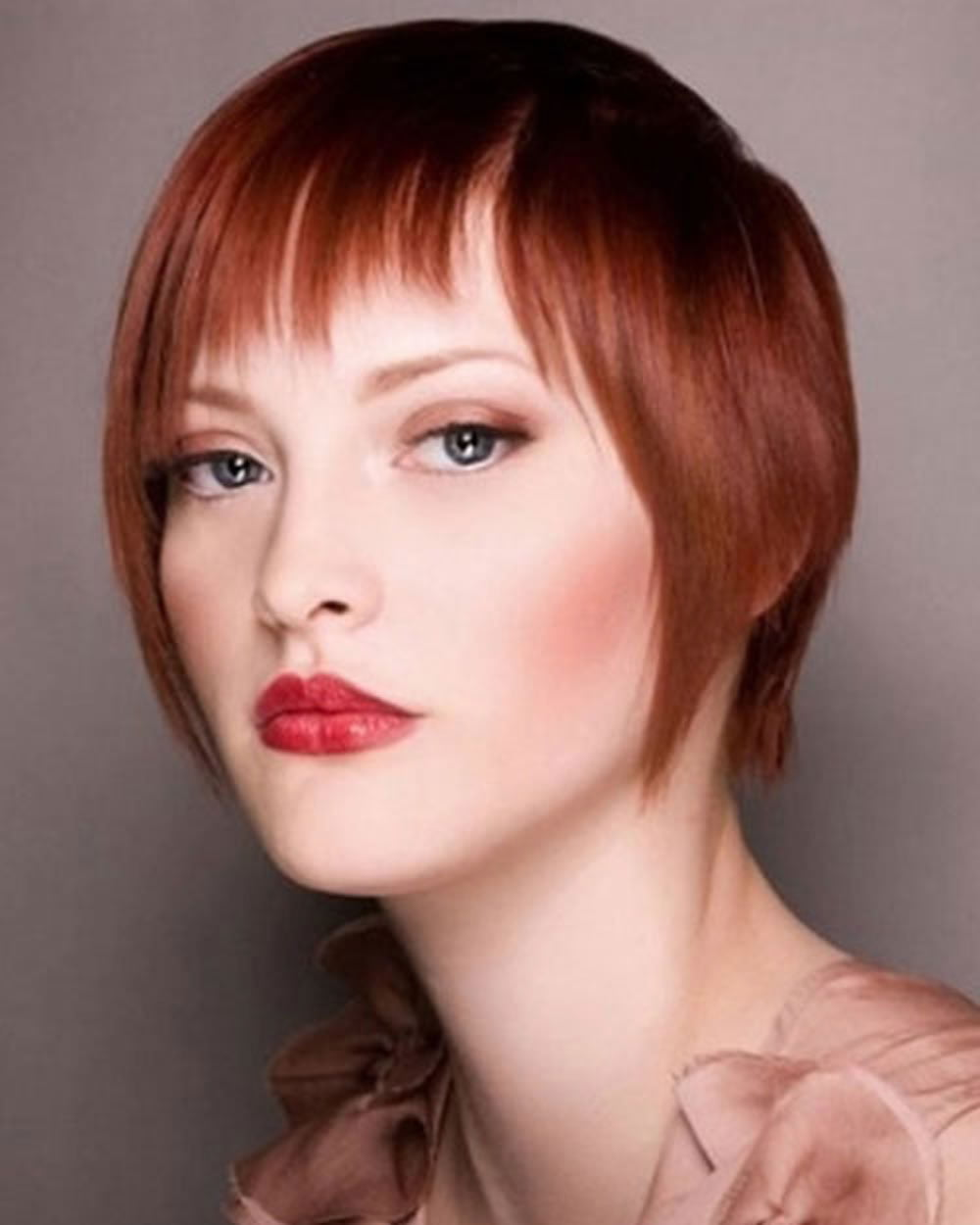 2018 Red Hairstyles - Red Short Hair Ideas & Colours for