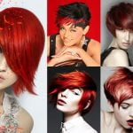 2018 Red Short Hairstyles