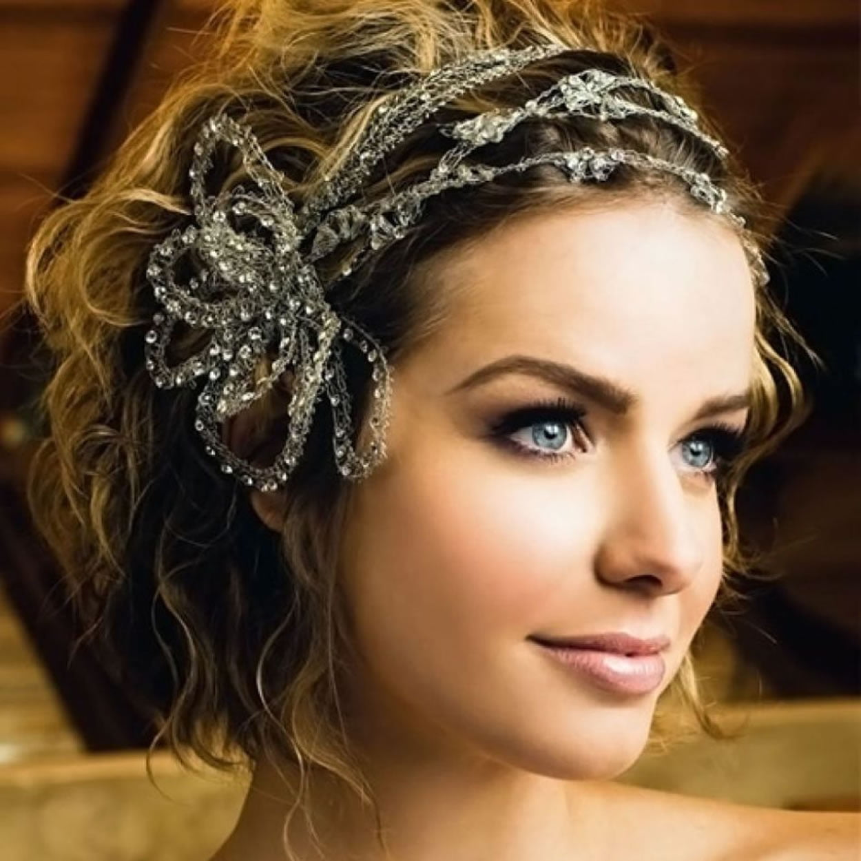 2018 wedding hairstyles and make up guide for short hair page 3 hairstyles. Black Bedroom Furniture Sets. Home Design Ideas