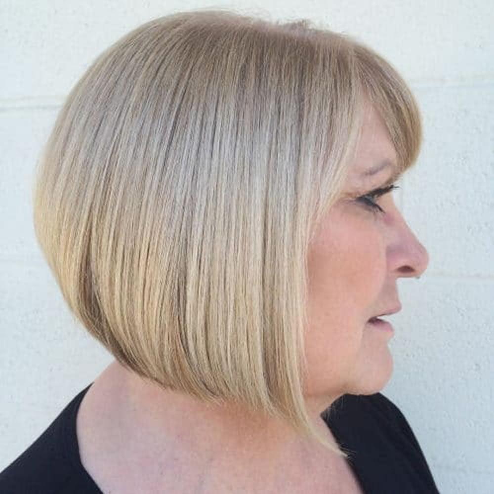 A-Line Bob Haircuts & Hair Colors for 2018-2019