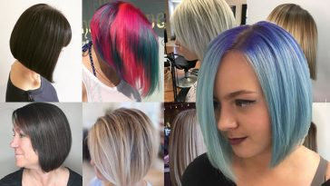A-Line Bob Haircuts & Hair Colors for 2018