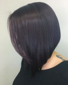 Balayage Asymmetrical Curly Bob Hairstyles -Short Bob Haircuts ...