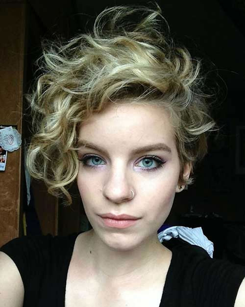 Curly Pixie Haircuts for 2018 u0026 Pixie Short Hairstyle Ideas u2013 Page 5 u2013 HAIRSTYLES