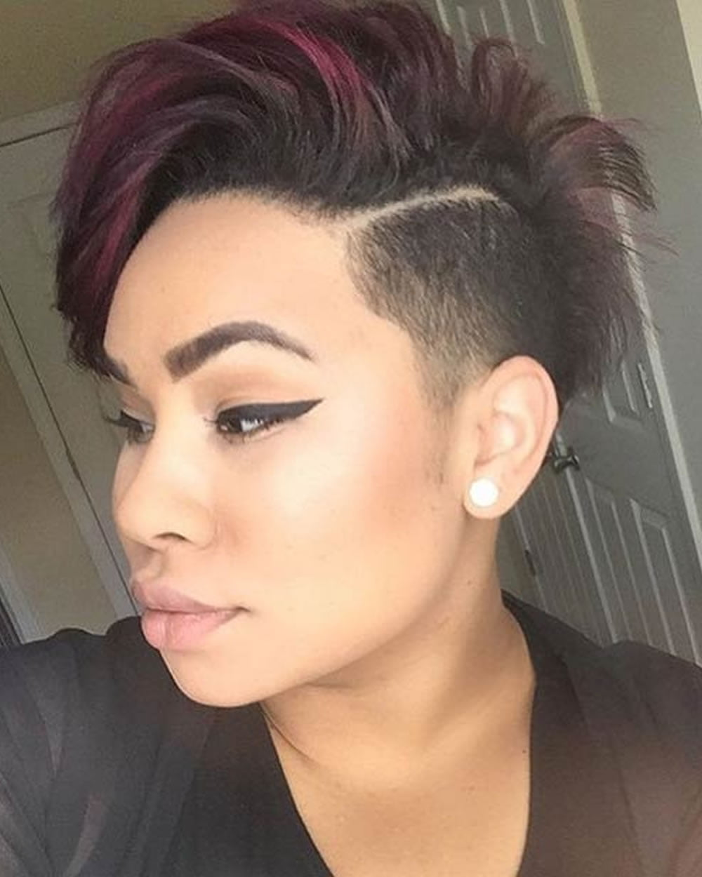 Curly Short Pixie Haircuts Image Collections Haircut Ideas For - Styling curly pixie