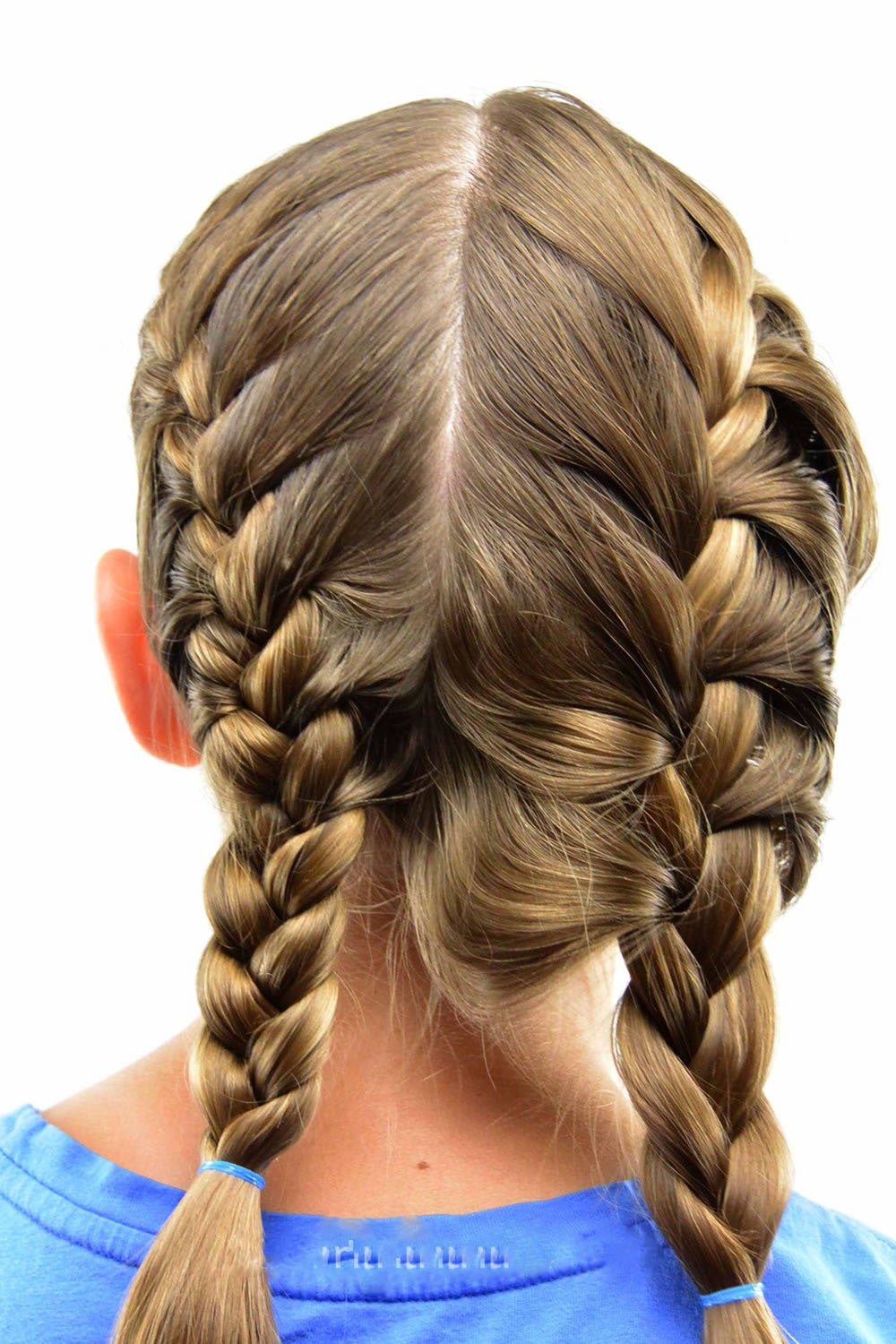 learn how to french braid your own hair