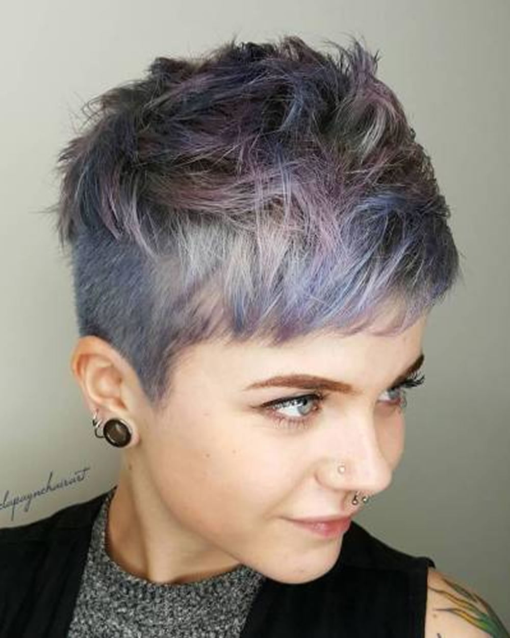 Short Choppy Pixie Haircuts 2018-2019